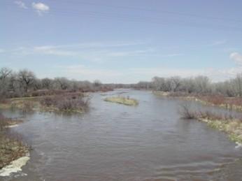 South Platte River near Kersey September 13, 2009.