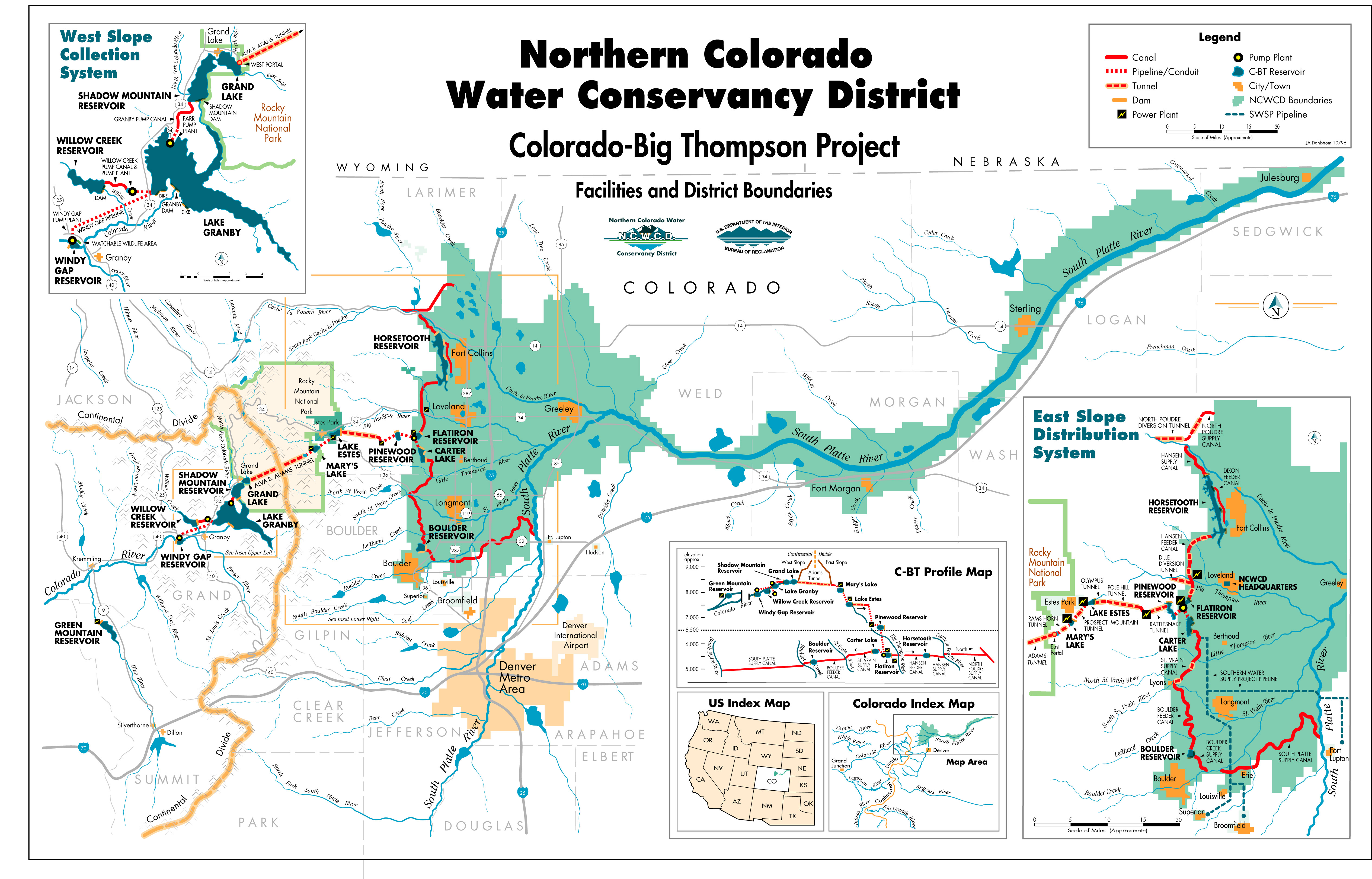 Big thompson watershed coyote gulch for Colorado plan