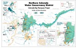 Colorado-Big Thompson Project Map via Northern Water