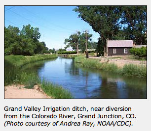 Grand Valley Irrigation Ditch