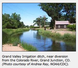 Grand Valley Irrigation Ditch