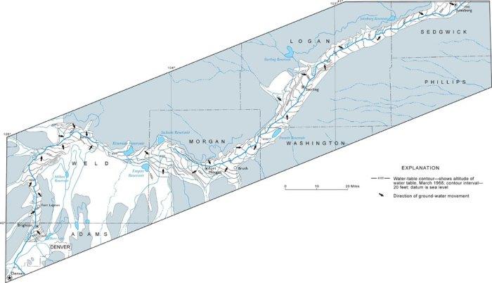 South Platte River alluvial aquifer