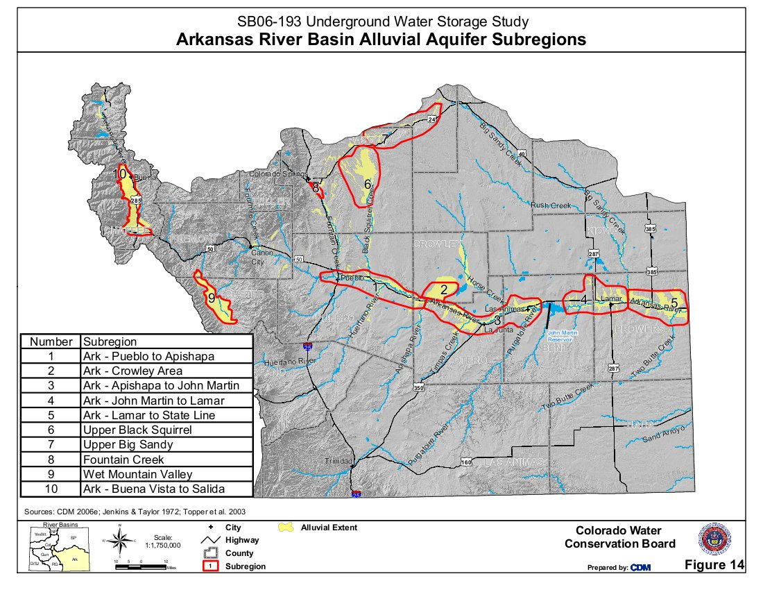 Arkansas River Basin: Lower Ark ponies up $45,300 for ...