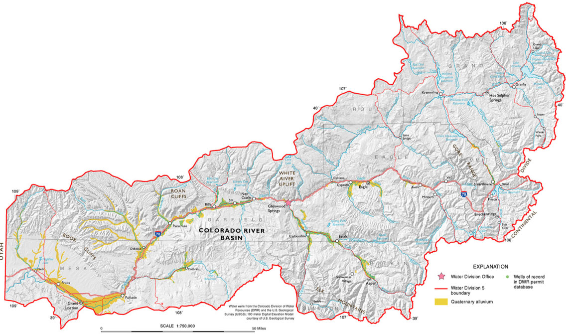 The Montrose County Commissioners Name Marc Catlin To The Colorado - Colorado river world map