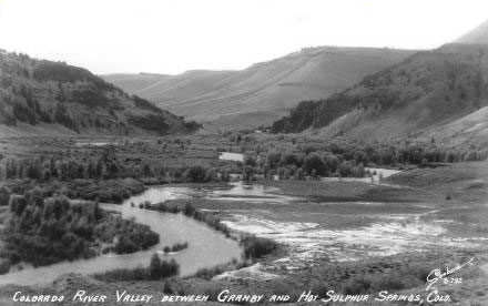Historical Colorado River between Granby and Hot Sulphur Springs