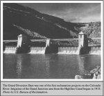 The Grand River Diversion Dam