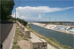 Arkansas River  levee through Pueblo