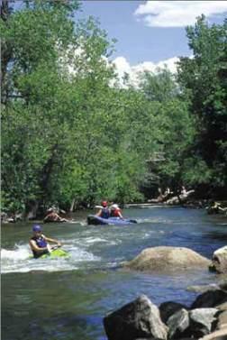 Tubing Boulder Creek