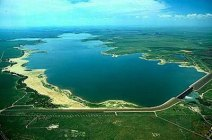 John Martin Reservoir back in the day