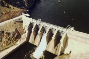 Olympus Dam photo via the US Bureau of Reclamation.