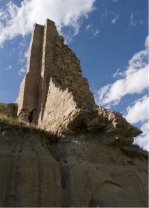 Castlewood Canyon Dam ruins