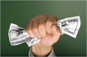 Squeezing money