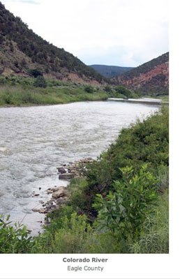 Colorado River in Eagle County via the Colorado River District
