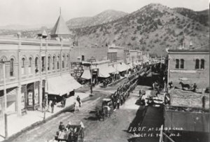 Salida Colorado early 1900s