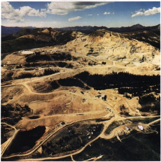Summitville Mine superfund site