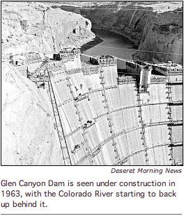Glen Canyon Dabm Construction
