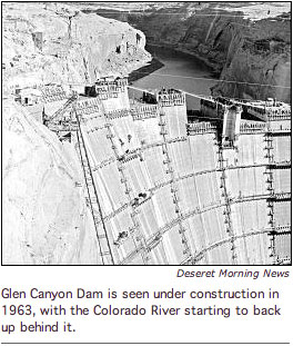 Glen Canyon Dabm Construction