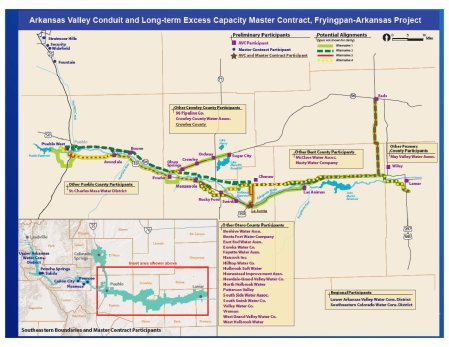 Work Begins On Arkansas Valley Conduit Route Coyote Gulch