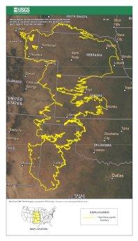 Ogallala aquifer via USGS
