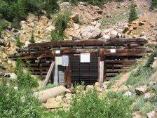 Busk-Ivanhoe tunnel entrance