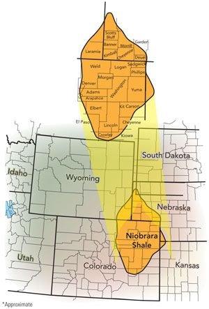 Niobrara Shale Denver Julesberg Basin
