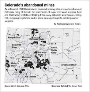 Colorado abandoned mines via The Denver Post