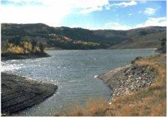 Willow Creek Reservoir.