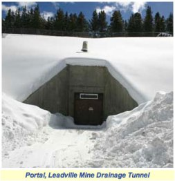 Leadville Mine Drainage Tunnel portal