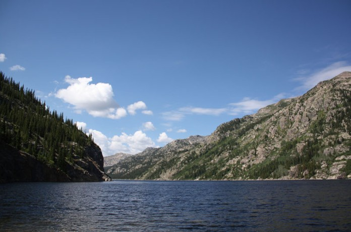 Homestake Reservoir circa 2010. Photo credit Aurora Water.