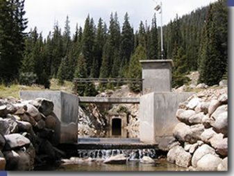 Twin Lakes Tunnel outlet