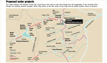 Moffat Collection System Project/Windy Gap Firming Project via the Boulder Daily Camera