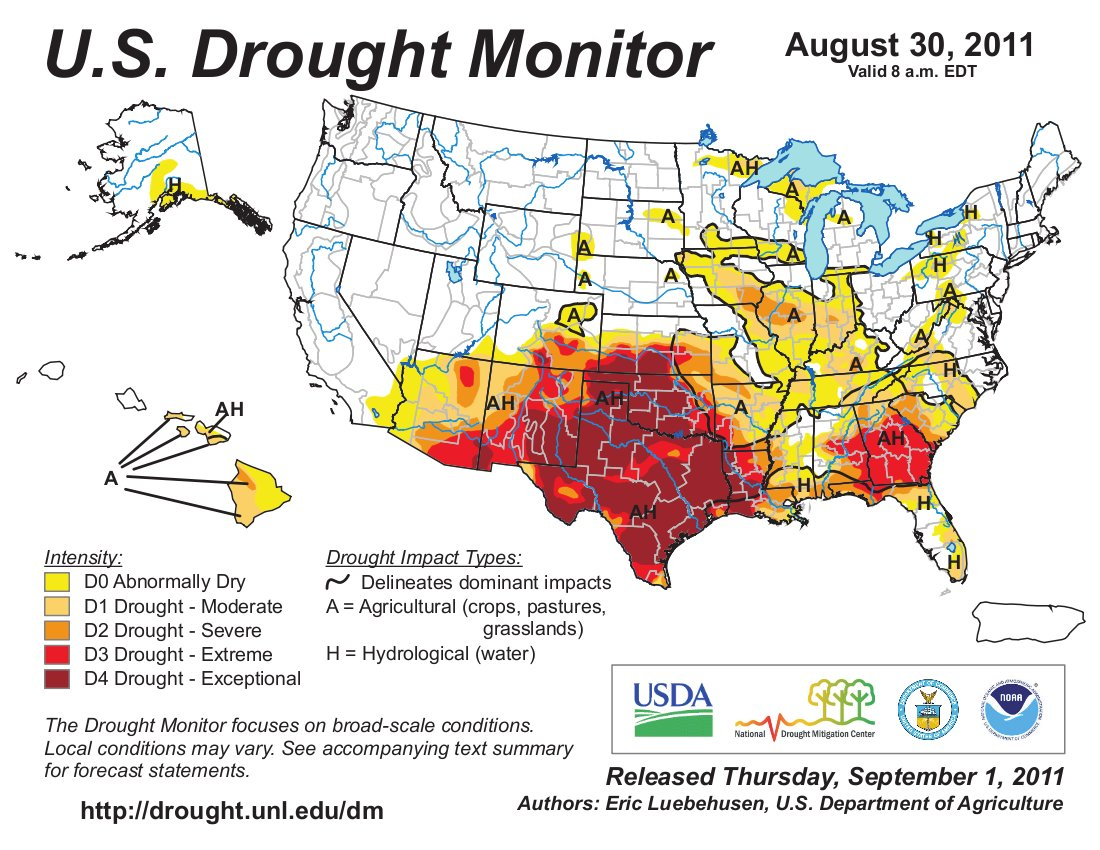 Drought news: Southeastern Colorado — 2 years of drought is taking ...