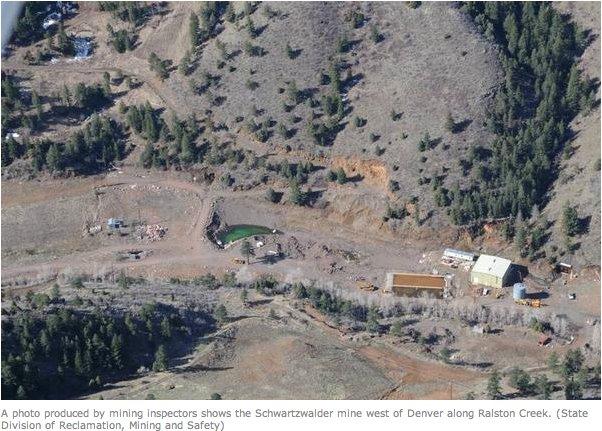 Schwartzwalder Mine via Division of Reclamation and MIning