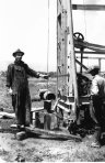 Drilling a water well