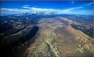 Paradox Valley via Airphotona.com