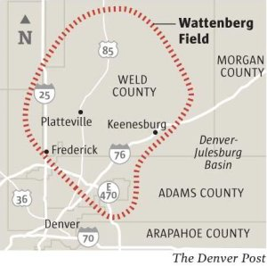 Wattenburg Field via The Denver Post