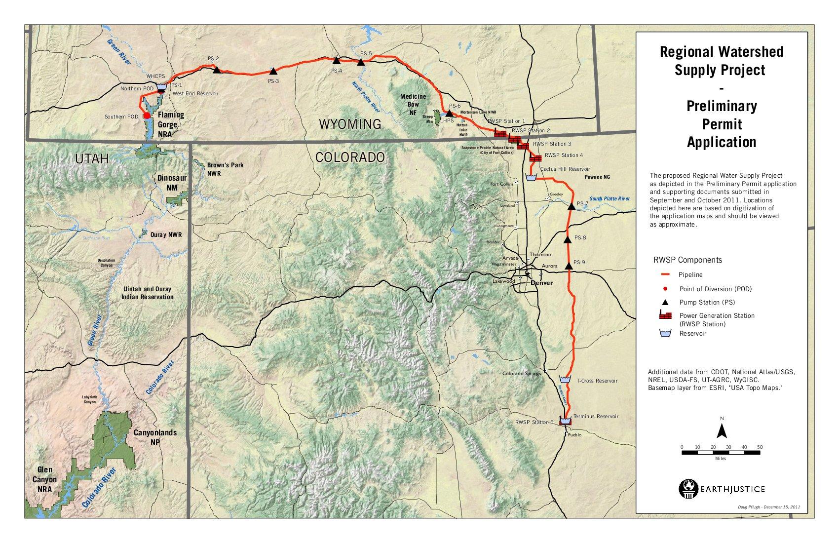 Flaming Gorge Wyoming Map