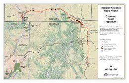 Conceptual route for the Flaming Gorge Pipeline -- Graphic via Earth Justice