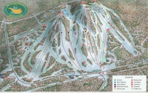 Trail map for Powderhorn Ski Area via liftopia