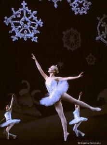 Doing a snowdance