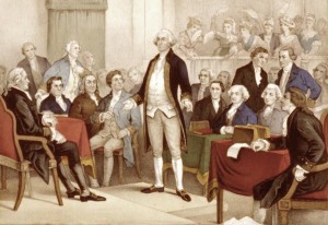 George Washington addresses the Continental Congress via Son of the South