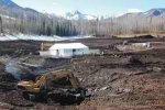Ziegler Reservoir construction via The Aspen Times