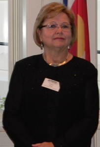 Diane Hoppe at CFWE President's Award Reception 2012