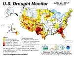 US Drought Monitor April 24, 2012