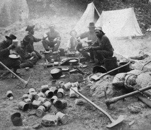 Red Cliff miner dinner 1888