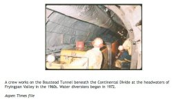 Boustead Tunnel Construction via The Aspen Times