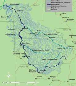Dolores River watershed