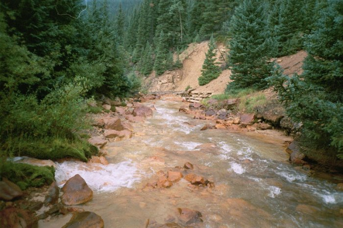 Willow Creek via the USGS