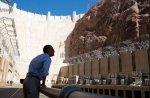 President Obama at Hoover Dam