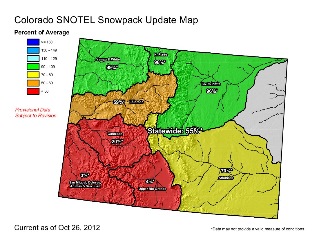 High Park Fire Map.Fort Collins A Low Winter Snowpack Remaining Effects Of The High